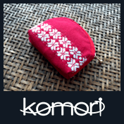 komori - a webshop selling wallets knitted using a unique traditional sewing technique unique of the northern prefecture of Aomori